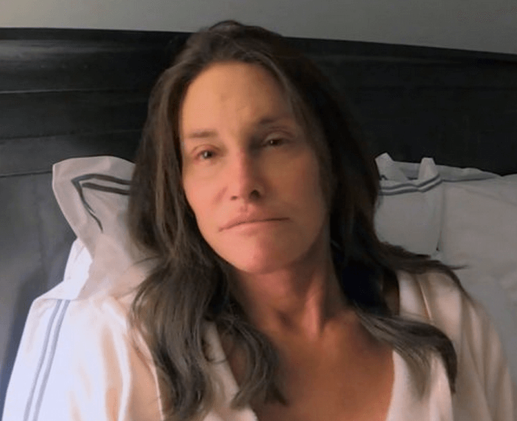 Caitlyn Jenner sin nada de make up