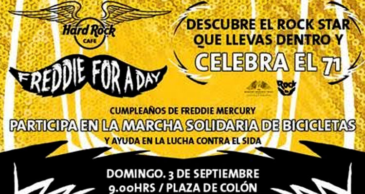 Hard Rock Cafe Madrid homenajea a Freddie Mercury