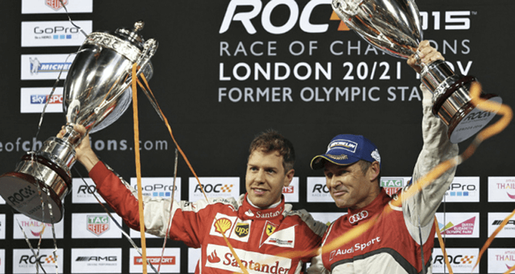 Sebastian Vettel se impone en la Race of Champions [VIDEO]